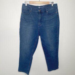 DG2 Medium Wash Blue Cotton Blend Stretch Jeans 14